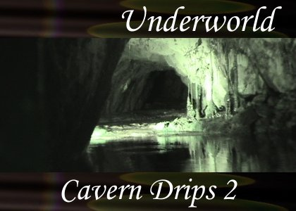 SoundScenes - Atmo-Underworld - Cavern Drips 2