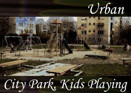 SoundScenes - Atmo-Urban - City Park, Kids Playing
