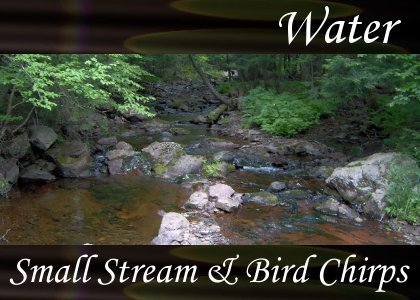 SoundScenes - Atmo-Water - Small Stream and Bird Chirps