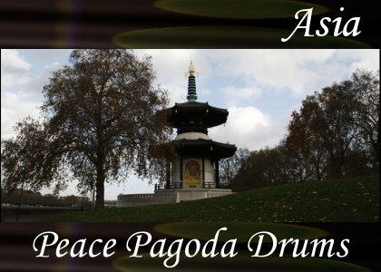SoundScenes - Atmo-Asia - Peace Pagoda Drums