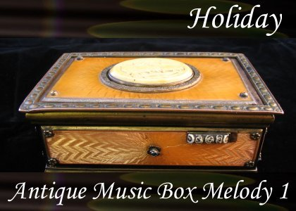 SoundScenes - Atmo-Holidays - Antique Music Box Melody 1
