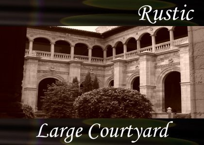 Large Courtyard 1:40