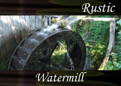 SoundScenes - Atmo-Rustic - Watermill