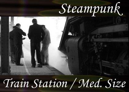 SoundScenes - Atmo-Steampunk - Train Station, Medium Sized