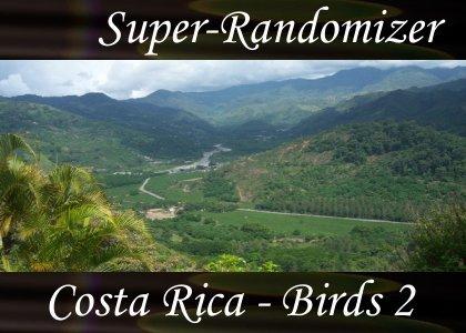 Costa Rica – Birds Set #2 (40 Sounds)