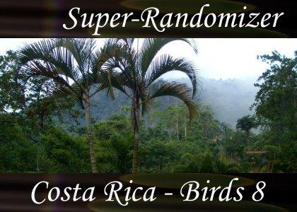 SoundScenes - Super Randomizer - Costa Rica - Birds Set 8