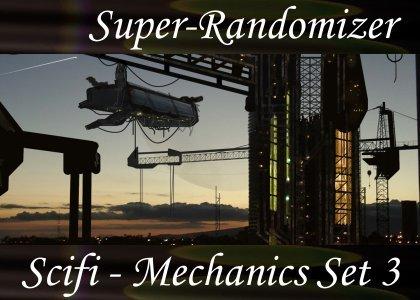 SoundScenes - Super Randomizer - Sci-Fi - Mechanics Set 3
