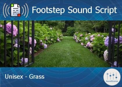 footstep script - unisex - grass1