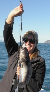 Great fishing in the Marlborough Sounds