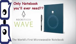 Rockbook Wave Notebook