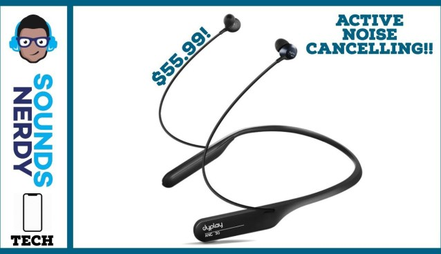 Dyplay Affordable Active Noise Cancelling Earbuds