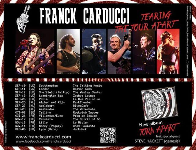 torn apart tour