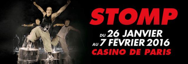 Nouvelle de la Semaine – STOMP : Le spectacle, de retour à Paris !