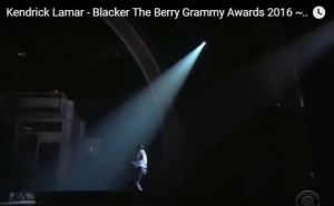 Kendrick Lamar Grammy 2016 3