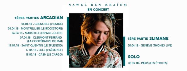 Nawel Ben Kraiem - Les Pleurs d'Une Méditerranéenne 1