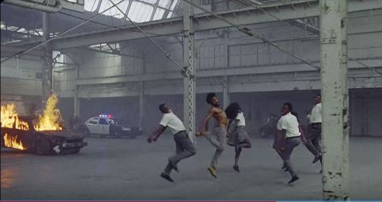 donald glover as childish gambino dancing_ this is america video meaning_Sounds So Beautiful