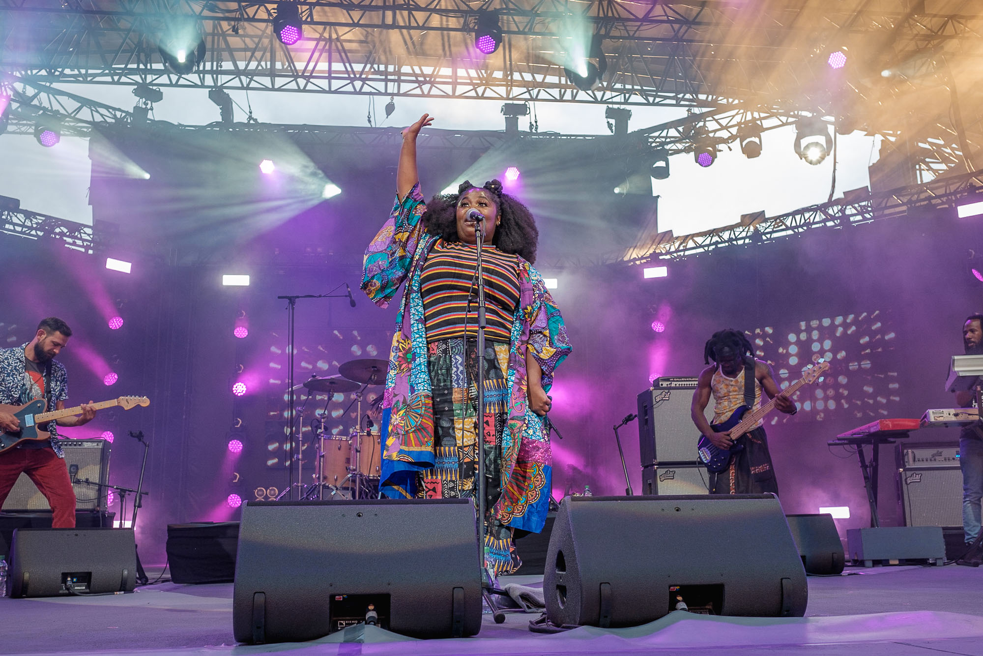 Jazz A Vienne – Tank & The Bangas – Live Report