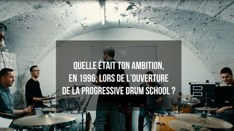 Progressive Drum School – Immersion En Ecole de Musique
