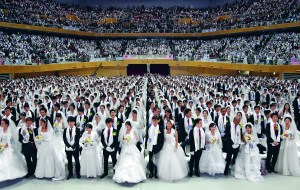 Unification Church Holds Mass Wedding 1