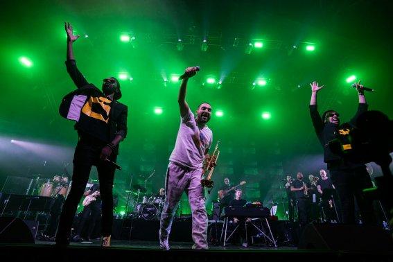 Ibrahim Maalouf - Le Trompettiste A Fait Son Carnaval à la Halle Tony Garnier  - Jazz à Vienne 19/20 2