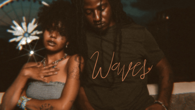 Let yourself drift through the « Waves » of Josh Waters (feat. Xiamara Jennings)