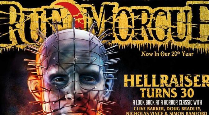 Hellraiser 30th Anniversary Featured on The Cover of Rue Morgue!