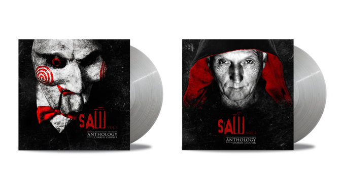 EXCLUSIVE! 'Saw' Anthology Two Volume Vinyl Release Artwork & Details Revealed, Available March 2018! | Bloody Disgusting