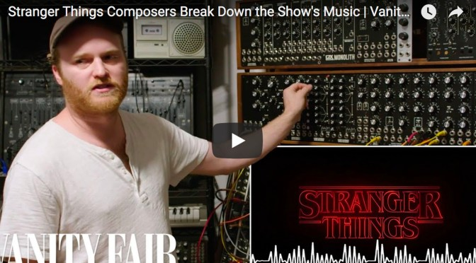 Stranger Things Composers Kyle Dixon and Michael Stein Talk Scoring With Vanity Fair