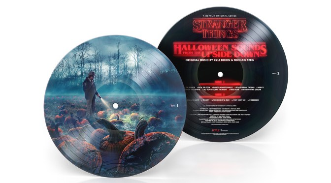 'Halloween Sounds From The Upside Down' Picture Disc Gets A Record Store Day Black Friday 2018 Release!