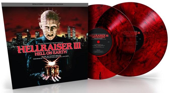 New Vinyl: Hellraiser III Remastered Anniversary Edition Score By Randy Miller