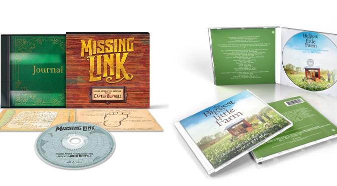 New Soundtracks: 'Missing Link' CD, Deep Murder, Ritual + New Pre-orders