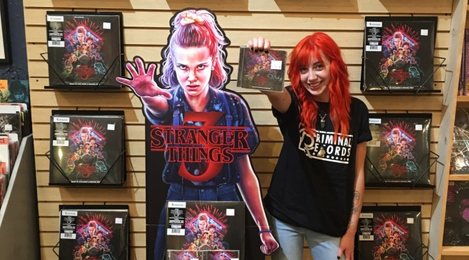 Stranger Things Soundtrack: You Could Win A #StandWithEleven Standee At Local Record Stores Across The U.S.!
