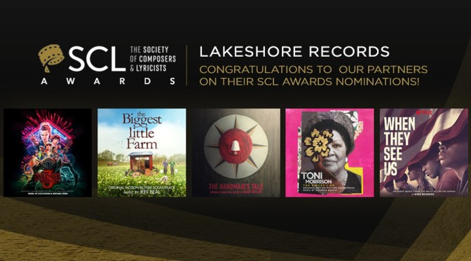 The Society of Composers & Lyricists: Lakeshore Congratulates Partners on Six Nominations For The Inaugural Awards!