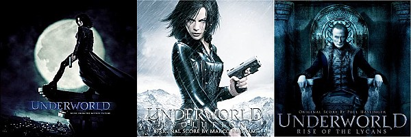Underworld 1-3 Soundtracks | Lakeshore Records