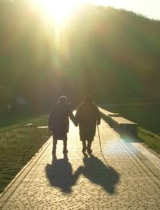 SeniorSunWalkCrop1 Examining a Transpersonal View of Aging  Longmont Mental Health Counseling