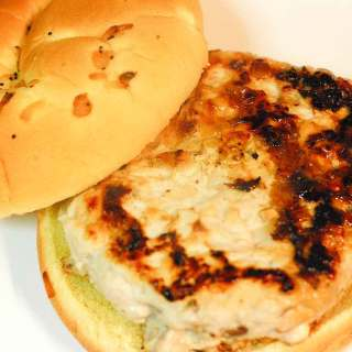 Turkey Burgers with Major Grey's Chutney