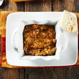 Rustic Lentil Soup 1