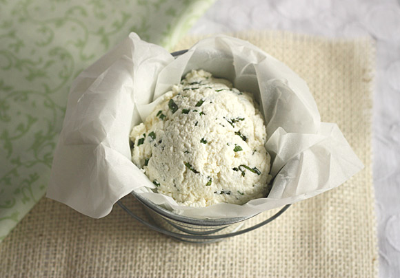 Homemade Herb Ricotta