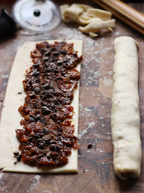 Rugelach with Chocolate Fig Compote 4