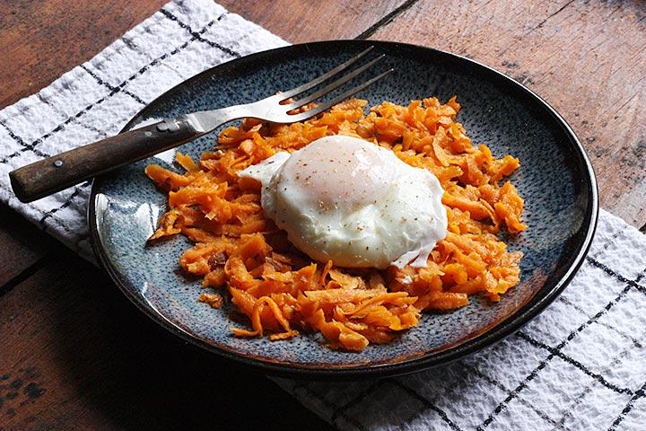 sriracha sweet potato hash browns 3
