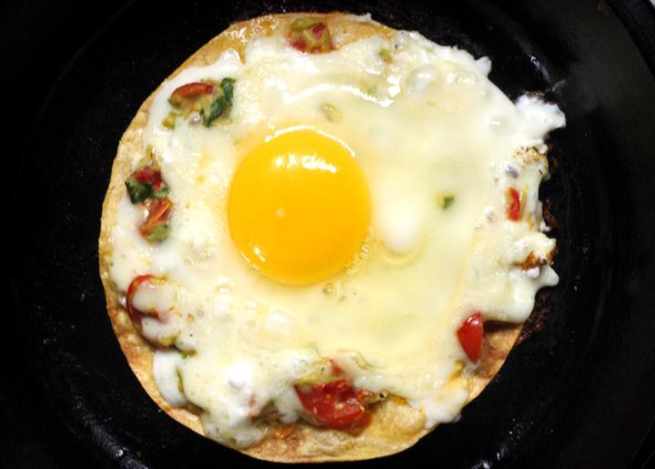 fried egg quesadilla 2