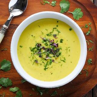 Broccoli Cauliflower Glow Soup | SoupAddict.com