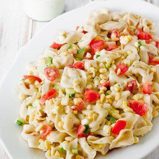 Summer Tortellini Salad | SoupAddict.com