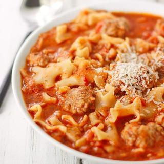 Ricotta Meatball Soup | SoupAddict.com