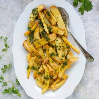 Chimichurri French Fries | SoupAddict.com