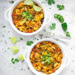 Two bowls of Tex-Mex Tortellini