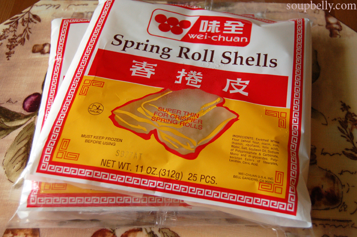 This Is How We Roll Spring Rolls That Is Soupbelly