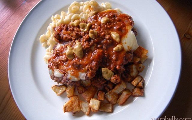 The Infamous Garbage Plate.