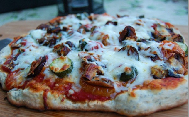 Pizza Week – Day 2 – Roasted Veggie Pizza