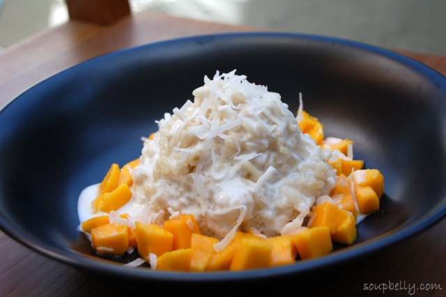 Blast From The Past Thai Coconut Sticky Rice With Mango